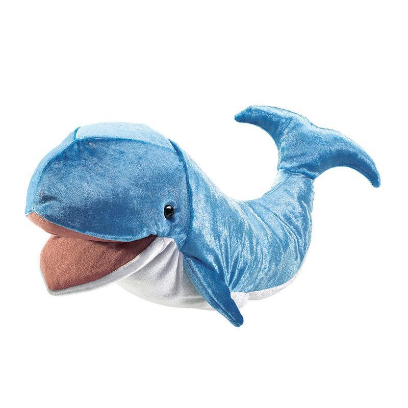 Folkmanis Whale Hand Puppet-Cubox Australia