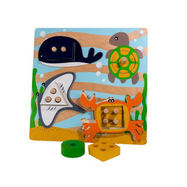 Kiddie Connect Sea Life Shape Sorting Puzzle