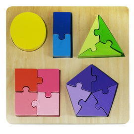 Kiddie Connect Jigsaw Shape Fraction Puzzle