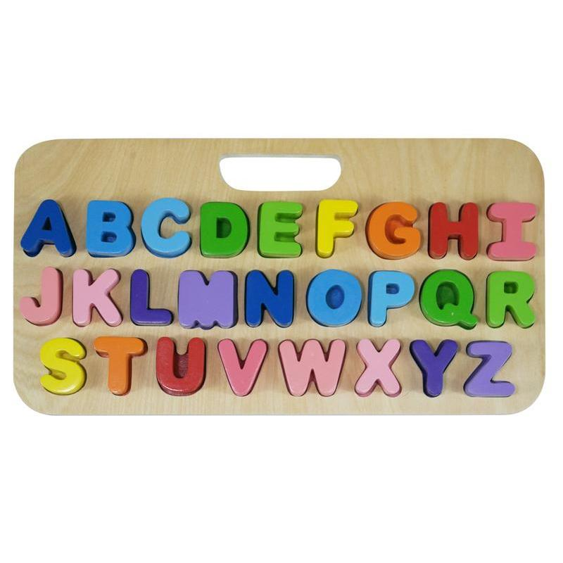Kiddie Connect Carry Around Abc Upper Case Puzzle