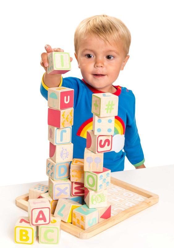 Le Toy Van ABC Wooden Blocks