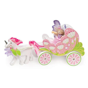 Le Toy Van Fairybelle Carriage & Unicorn-Cubox Australia