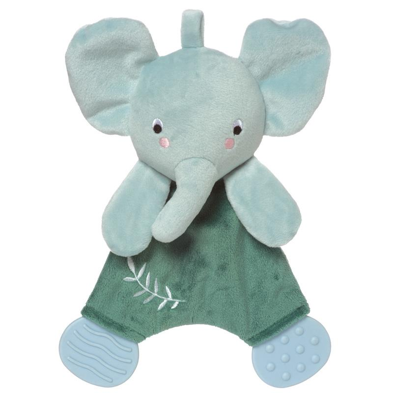 Manhattan Toy Safari Elephant Blankie Teether