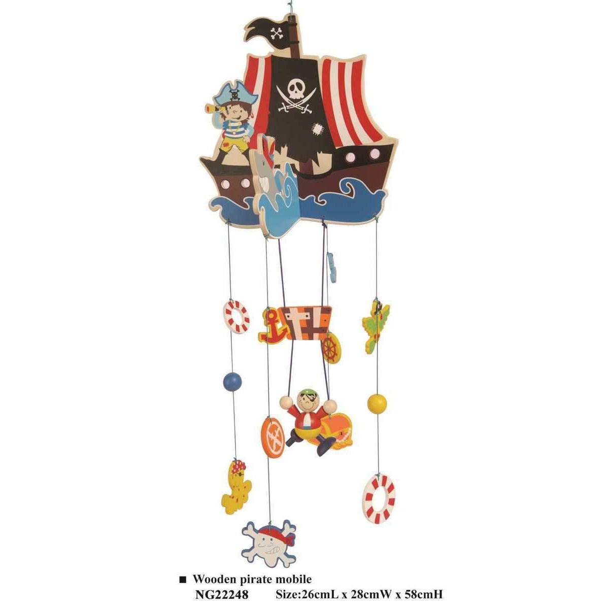 Pirate Nursery Mobile