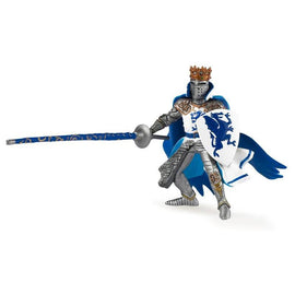 Papo Medieval Era Dragon King Blue-Collectables-Cubox Australia