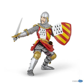 Papo Medieval Era Knight in tournament-Collectables-Cubox Australia