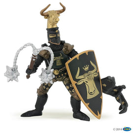 Papo Medieval Era Knight Bull Black And Gold-Collectables-Cubox Australia