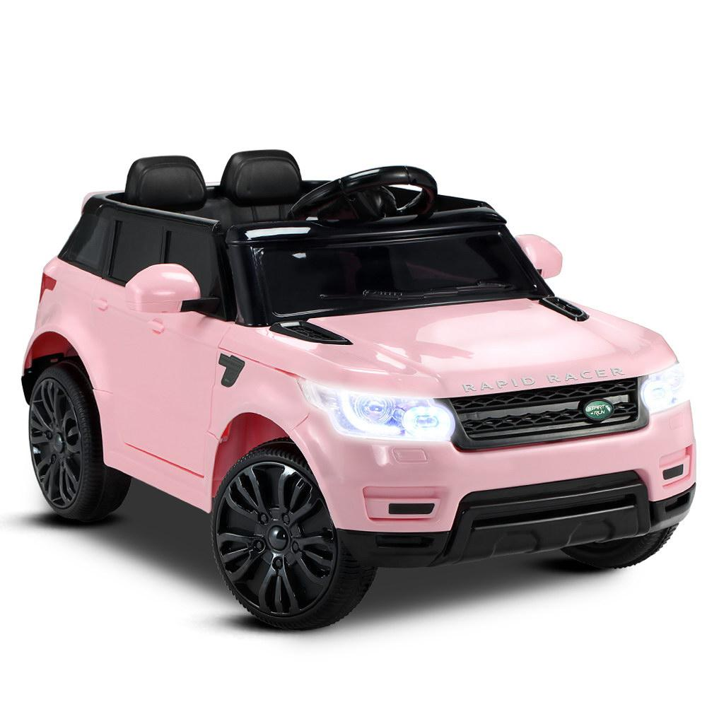 Kid S Electric Ride On Car Range Rover Coupe Pink