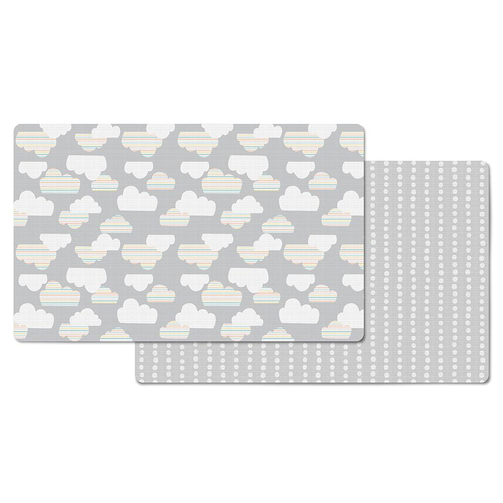 Skip Hop Doubleplay Reversible Playmat Clouds / Mini Dot
