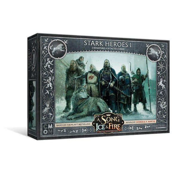 A Song of Ice and Fire - Stark Heroes 1-Cubox Australia