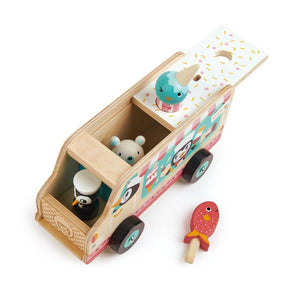 Tender Leaf Toys Tutti Frutti Ice Cream Van with Penguins