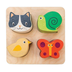 Tender Leaf Toys Touch Animal Sensory Tray