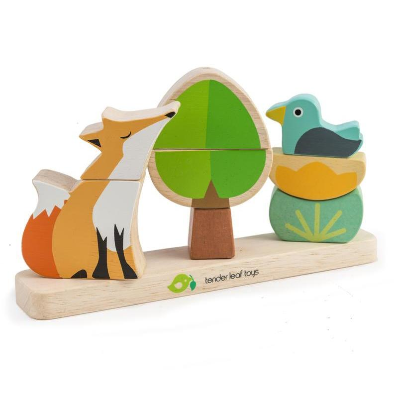 Tender Leaf Toys Magnetic Foxy Stacker Puzzle