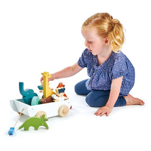 Tender Leaf Toys The Friend Ship Boat