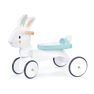 Tender Leaf Toys Running Rabbit Wooden Ride On