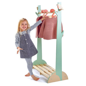 Tender Leaf Toys Forest Wooden Clothes Rack