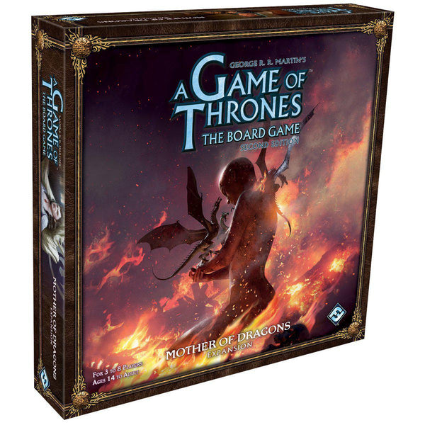 A Game of Thrones Board Game - Mother of Dragons Expansion-Cubox Australia