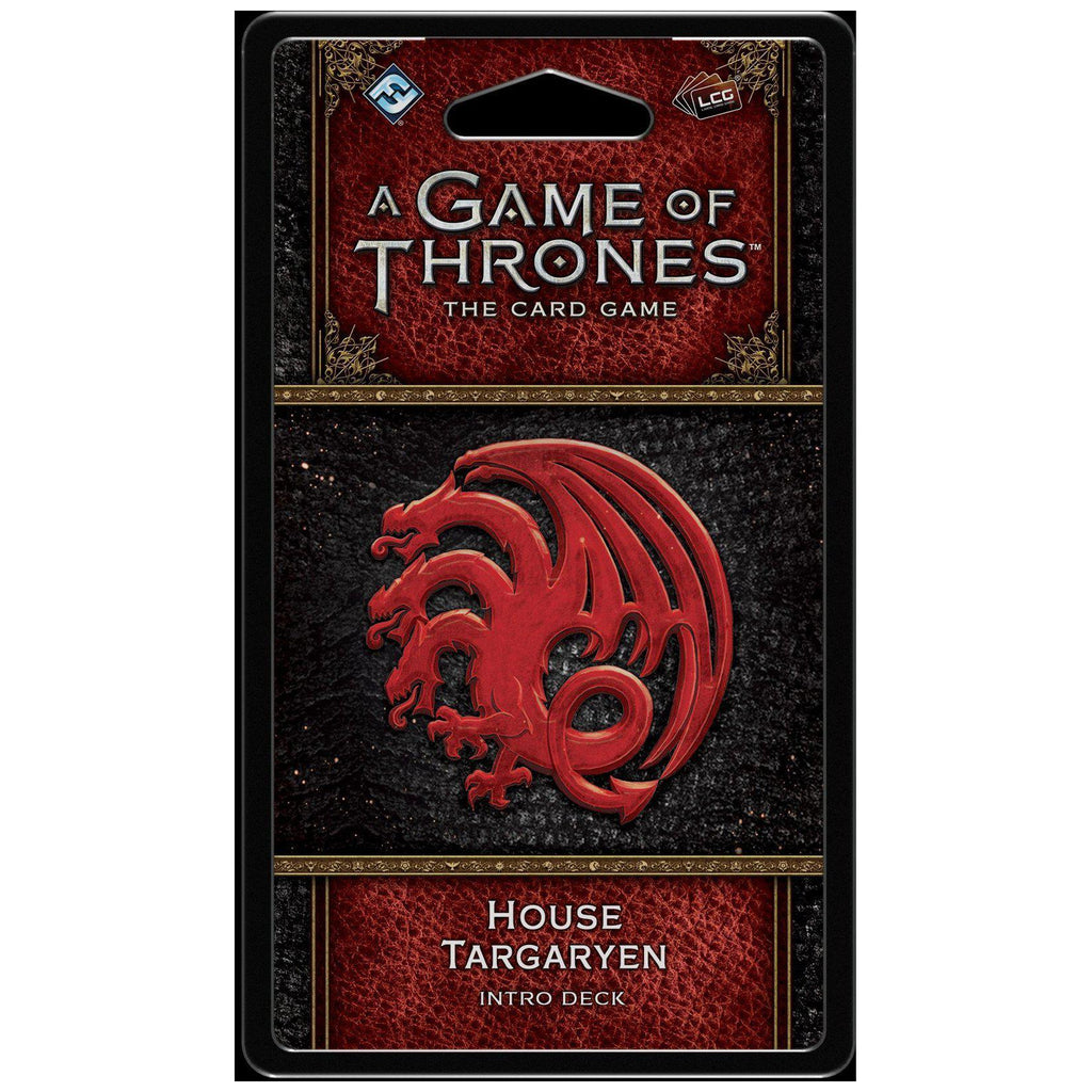 A Game of Thrones LCG House Targaryen Intro Deck