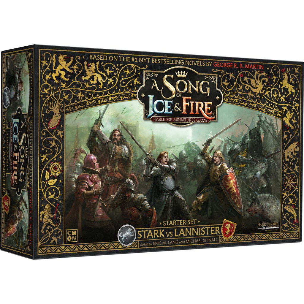 A Song of Ice & Fire: Tabletop Miniatures Game Stark vs Lannister Starter Set