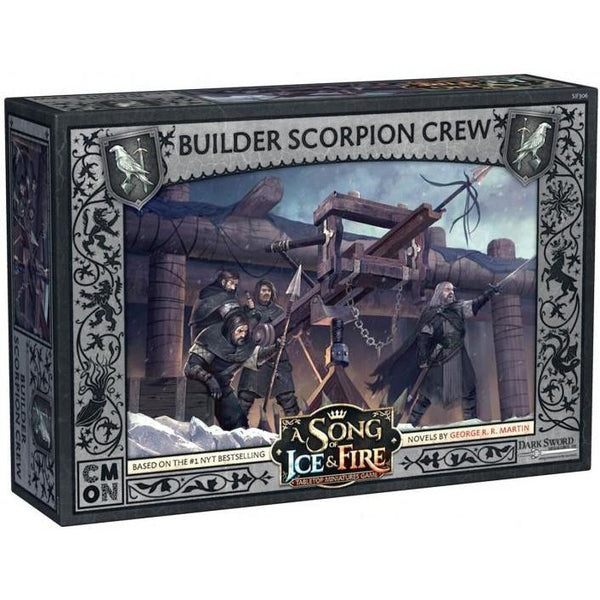 A Song of Ice and Fire TMG - Builder Scorpion Crew-Cubox Australia