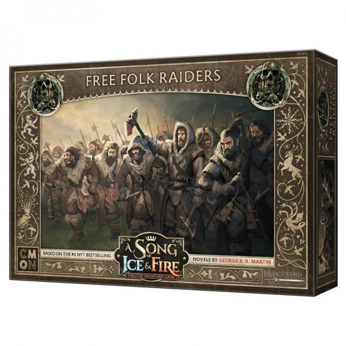 A Song of Ice and Fire TMG - Free Folk Raiders