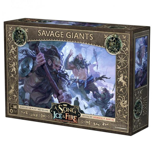 A Song of Ice and Fire TMG - Savage Giants-Cubox Australia