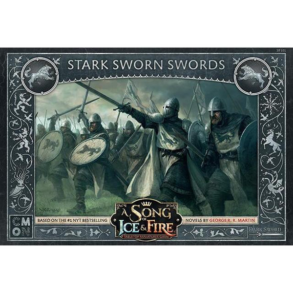A Song of Ice and Fire TMG - Stark Sworn Swords-Cubox Australia