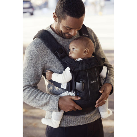9098fad9349 BabyBjorn Baby Carrier One Air New Version 2018 Black Mesh