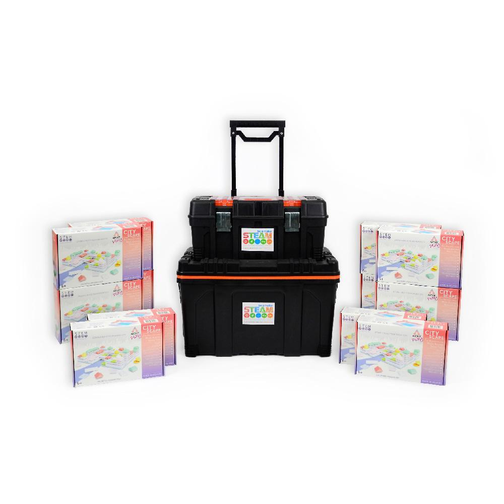 12 x The Arckit Cityscape with Free Storage Kit-Cubox Australia