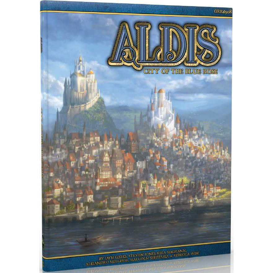 Aldis City of the Blue Rose RPG Sourcebook