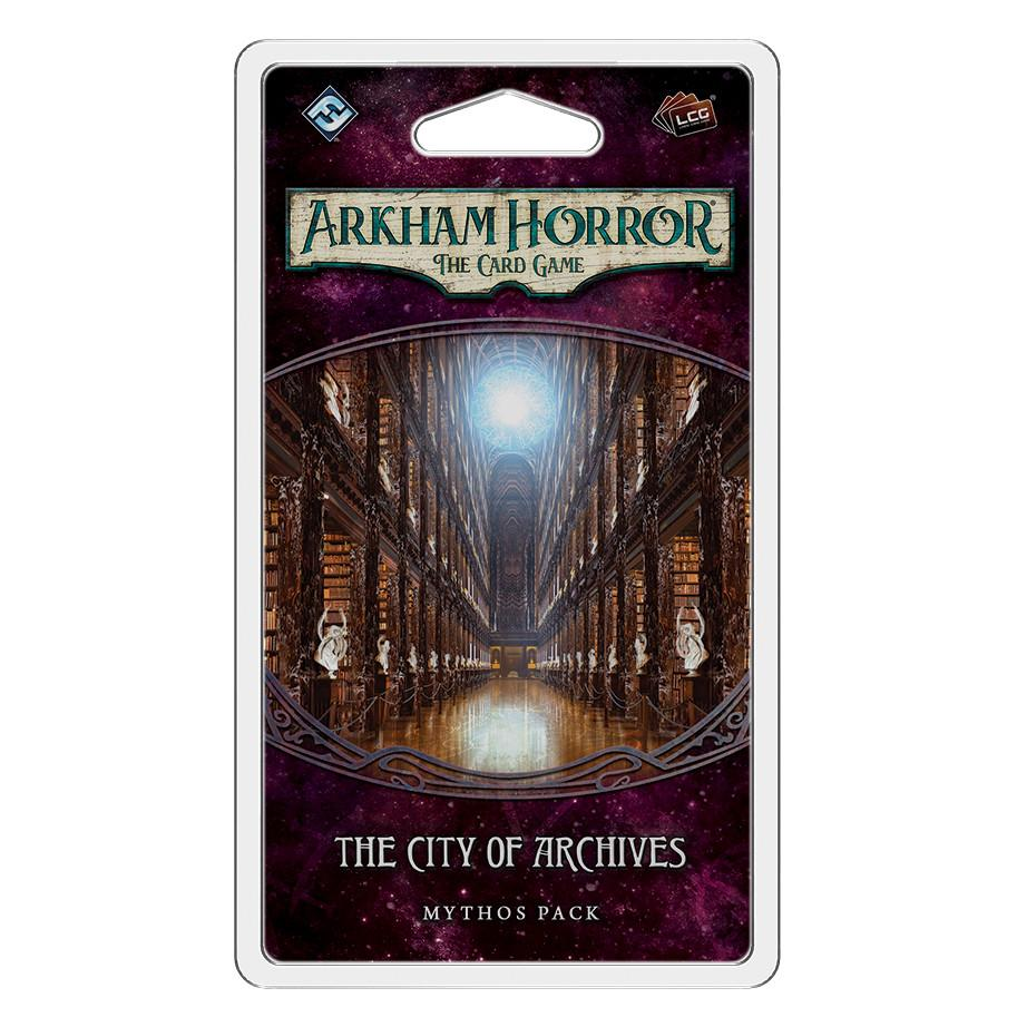 Arkham Horror The Card Game - The City of Archives Mythos Pack