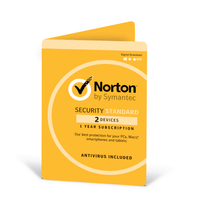 Symantec Norton Security Standard 3.0 OEM For 2 PC or MAC (Download)