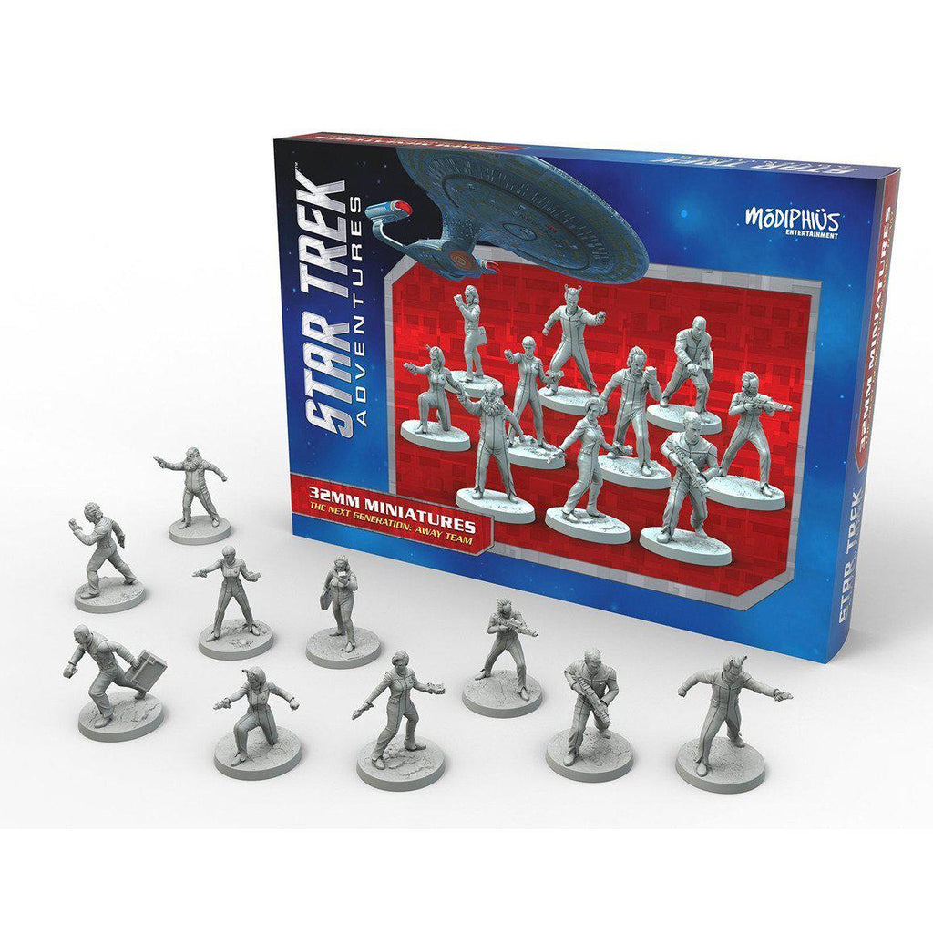 Star Trek Adventures Next Generation Away Team Miniatures Set