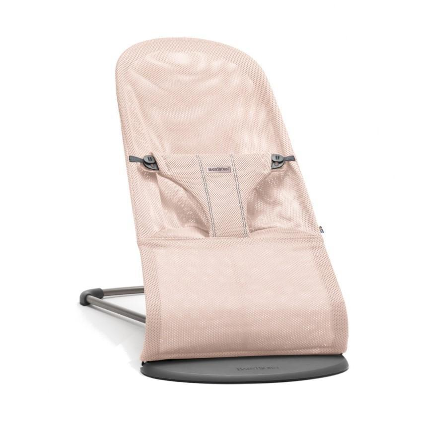 BabyBjorn Bouncer Bliss Powder Pink Mesh