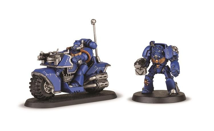 Warhammer 40k Build+Paint Space Marine Bike Attack