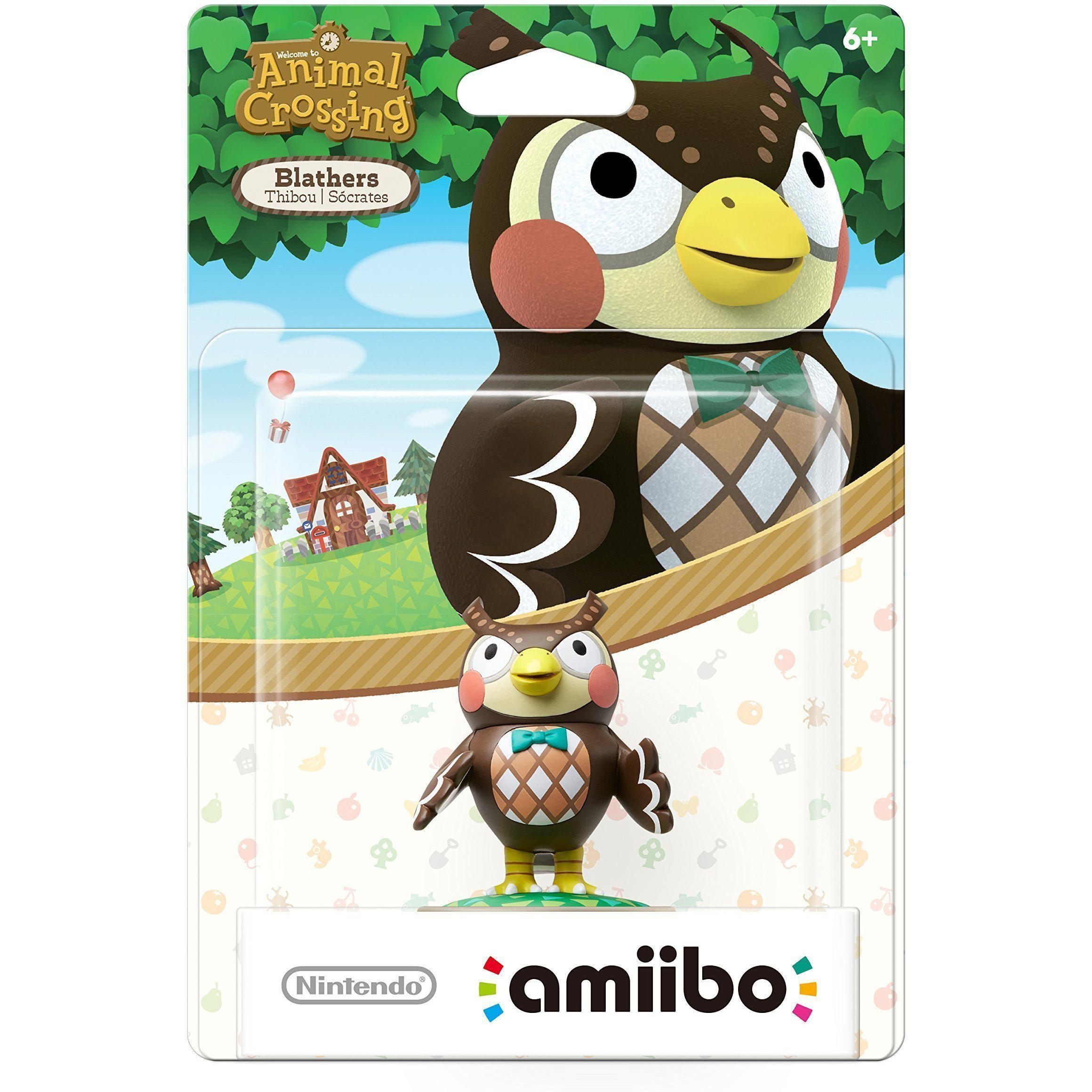 Nintendo Amiibo - Animal Crossing - Blathers (US VERSION)
