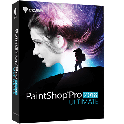 Corel Paintshop Pro Ultimate 2018
