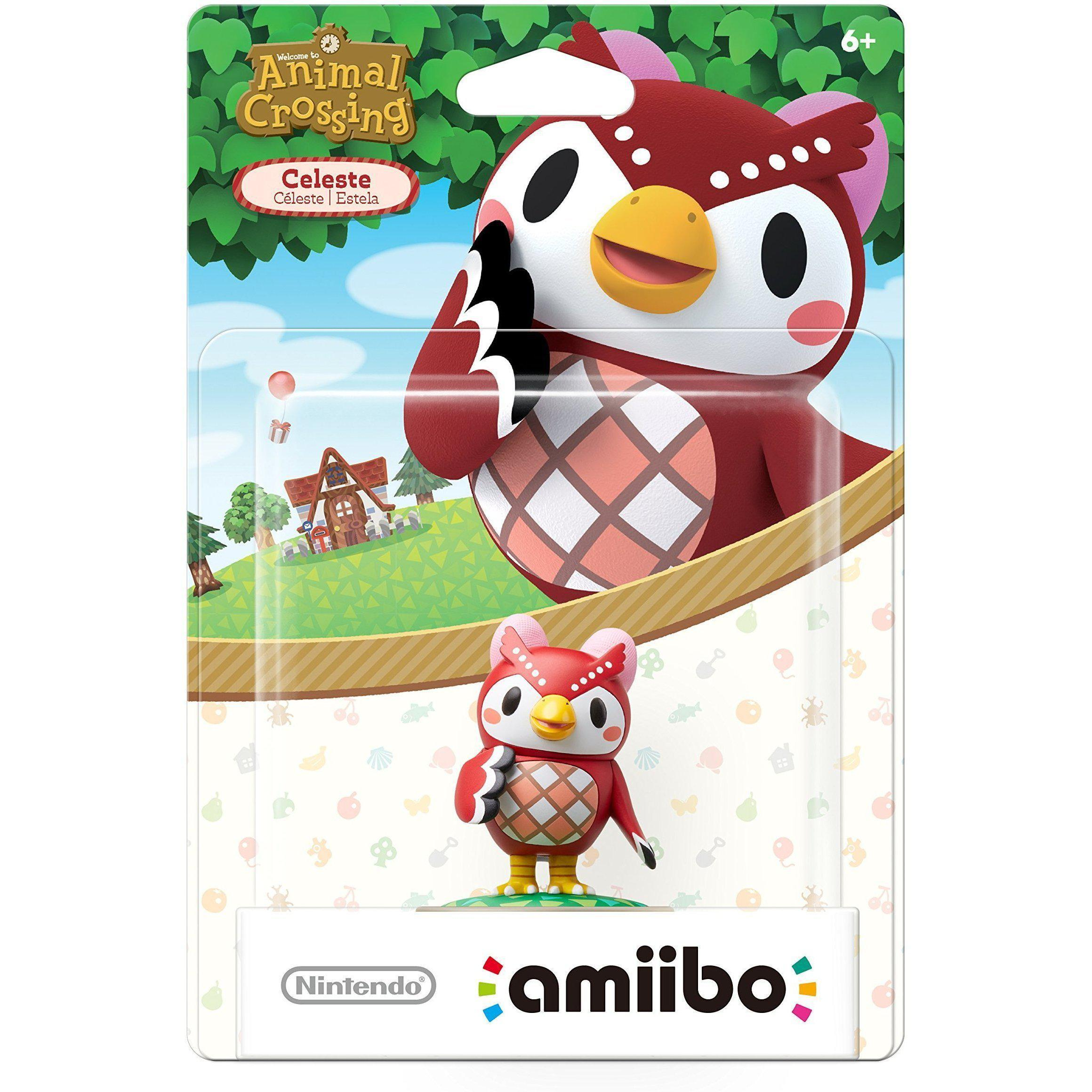 Nintendo Animal Crossing Amiibo - Celeste (US Version)