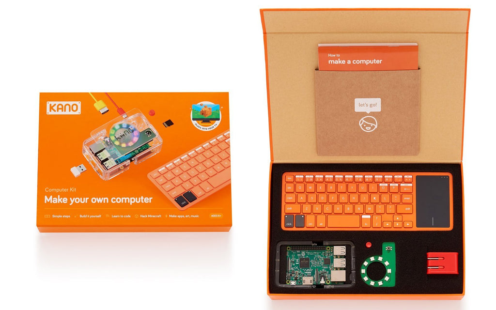 12 x Kano Computer Kit & 12 x Kano Pixel Kit & 12 x Kano Motion Sensor Kit with 3 Free Storage Kits-Cubox Australia