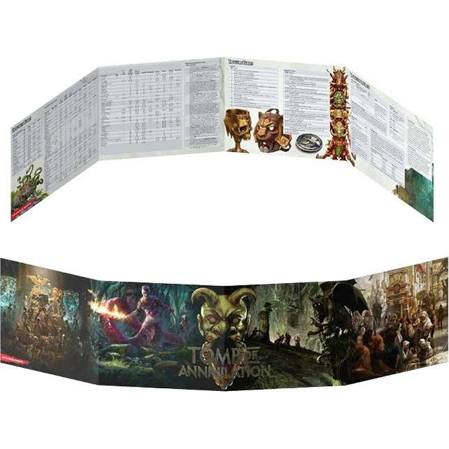 Dungeons & Dragons Tomb Of Annihilation Dungeon Master's Screen