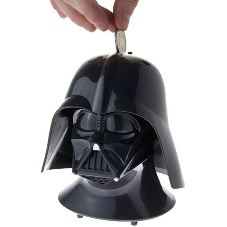 Star Wars Darth Vader Talking Money Box-Cubox Australia