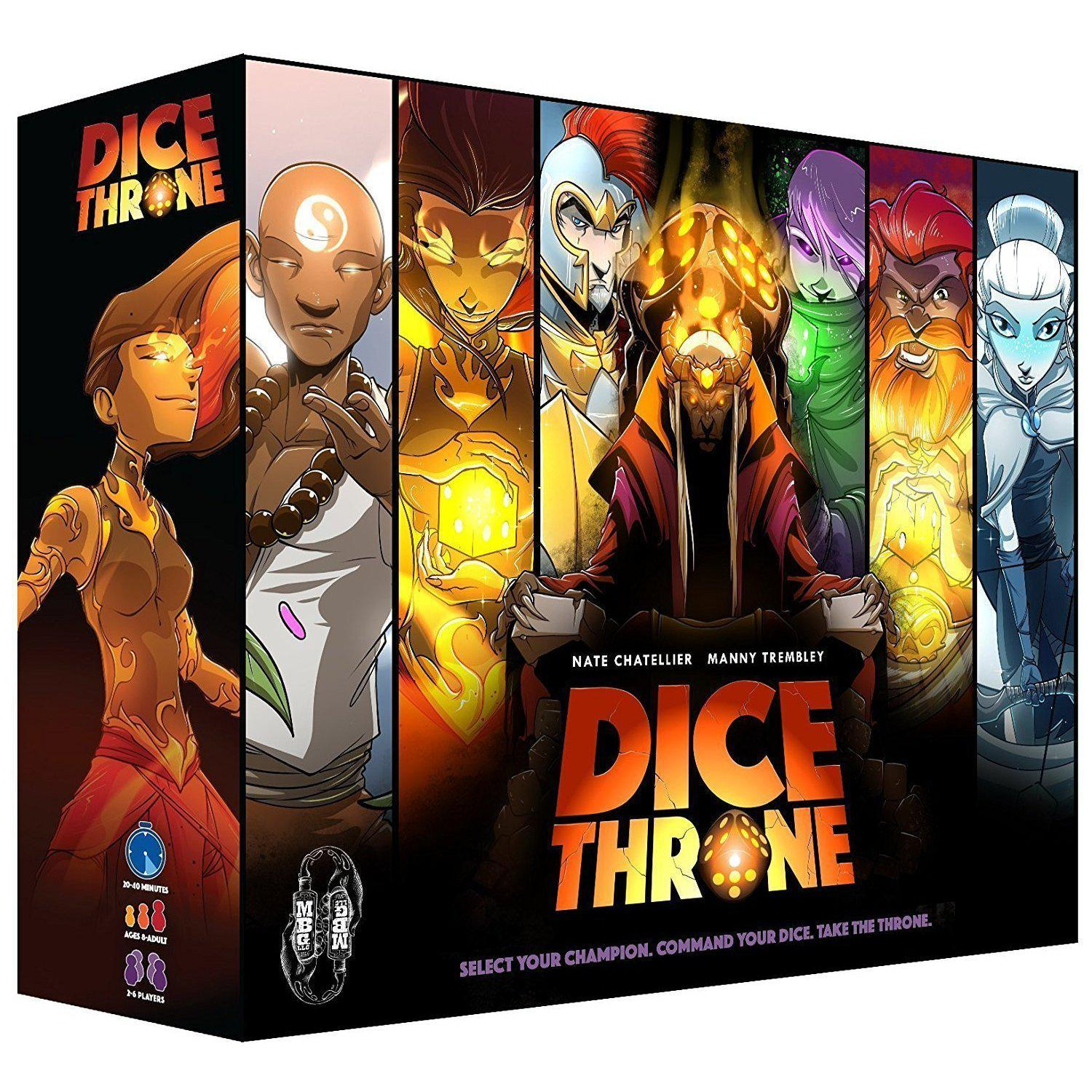 Dice Throne Board Game