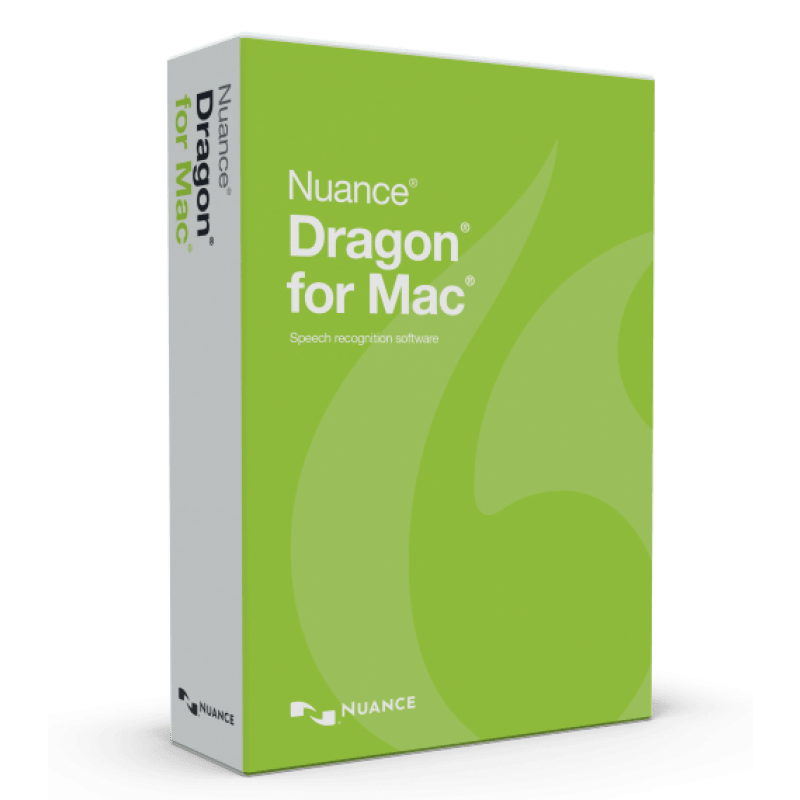 Nuance Dragon for MAC 5 Retail