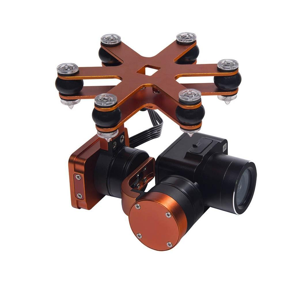 Waterproof 4K Camera 2 Axis Gimbal for Splash Drone 3