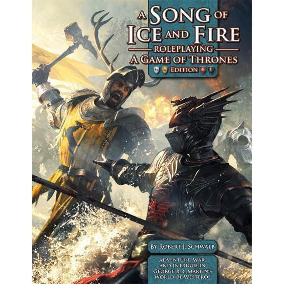 A Song of Ice and Fire Roleplaying A Game of Thrones Edition Core Sourcebook-Cubox Australia