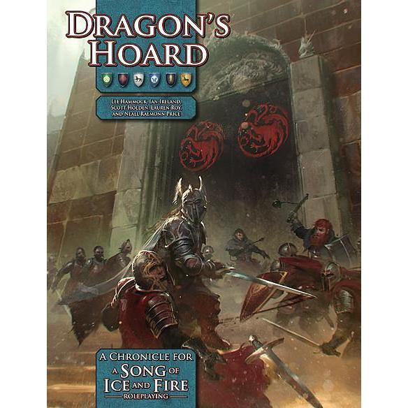 A Song of Ice and Fire Roleplaying Dragons Hoard Sourcebook-Cubox Australia