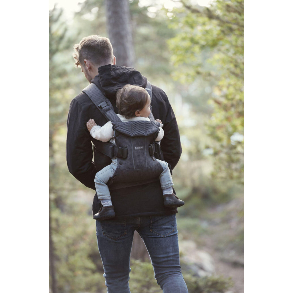 577f7def69e BabyBjorn Baby Carrier One Air New Version 2018 Anthracite Mesh