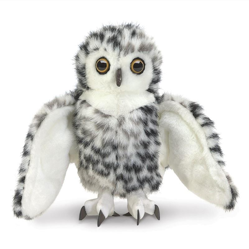 Folkmanis Small Snowy Owl Puppet