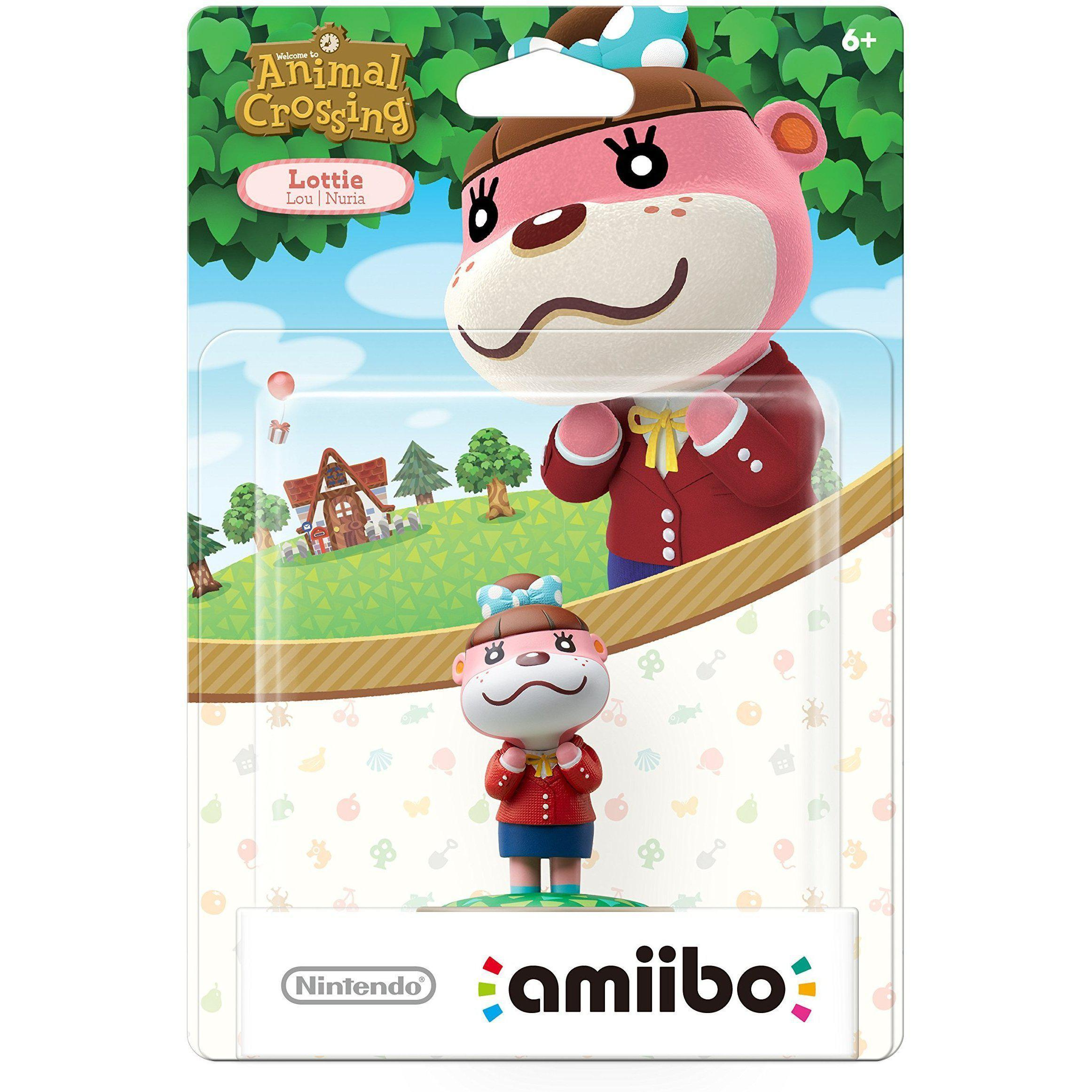 Nintendo Amiibo - Animal Crossing - Lottie (US VERSION)