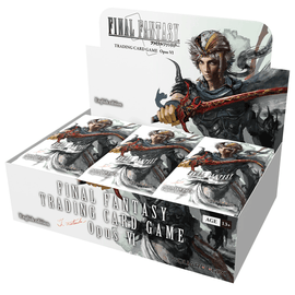 Final Fantasy Trading Card Game Opus VI Booster Display